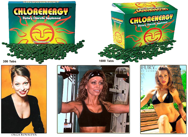 chlorella supplement - chlorenergy